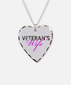 BDU Army Vet Wife Necklace