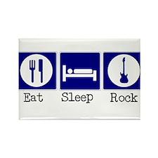 Eat, Sleep, Rock Rectangle Magnet