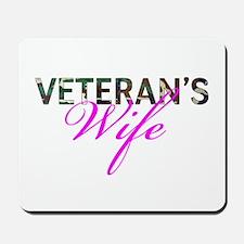 BDU Army Vet Wife Mousepad