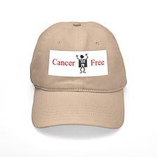 Cancer Free Baseball Cap (white or khaki)