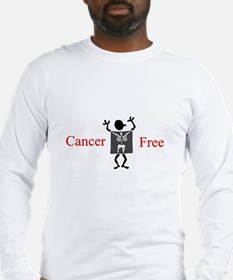 Cancer Free Long Sleeve T-Shirt