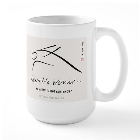 Humble Warrior Large Mug