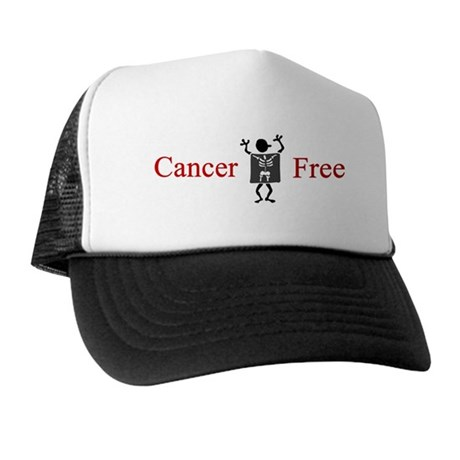Cancer Free Trucker Hat (blue or white)
