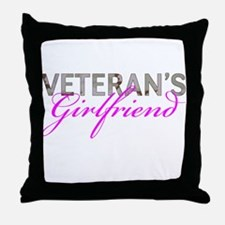 DCU Army Vet GF Throw Pillow