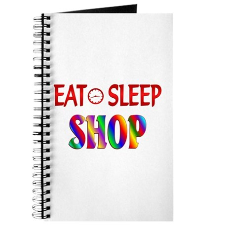 Eat Sleep Shop Journal