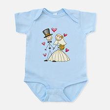 Bride and Groom Infant Bodysuit