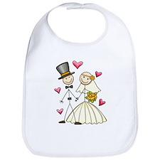 Bride and Groom Bib