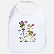 Bride and Groom Bib