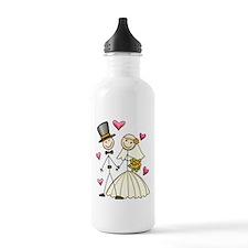 Bride and Groom Water Bottle