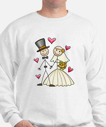 Bride and Groom Sweatshirt