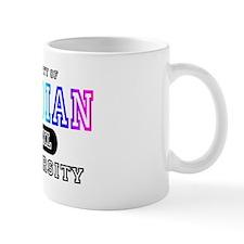 Rainbow Lesbian University Mug