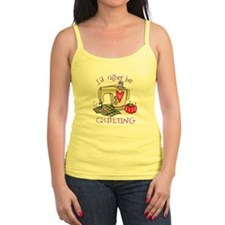 I'd Rather Be Quilting Ladies Top