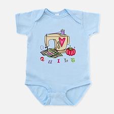 Quilt Infant Bodysuit