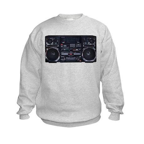 Super Jumbo Boombox Kids Sweatshirt