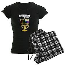 Happy Hanukkah Menorah Pajamas