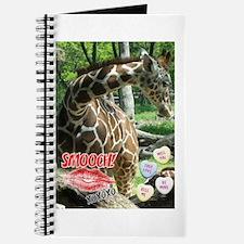 Valentine's Day Giraffe Journal
