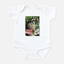 Valentine's Day Giraffe Infant Bodysuit