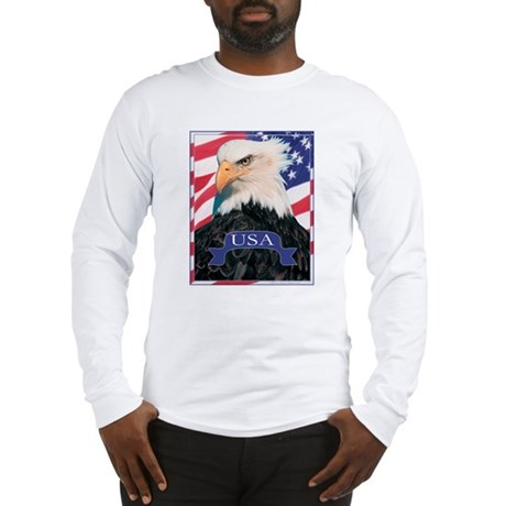 Long Sleeve USA Eagle T-Shirt