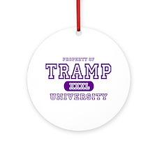 Tramp University Ornament (Round)