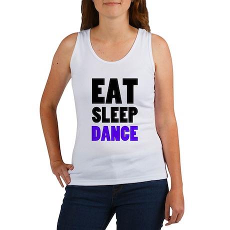 Eat Sleep Dance Women's Tank Top