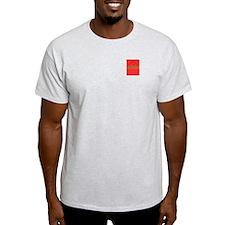 Classic StallisTrash Ash Grey T-Shirt