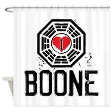 I Heart Boone - LOST Shower Curtain