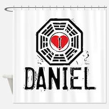 I Heart Daniel - LOST Shower Curtain
