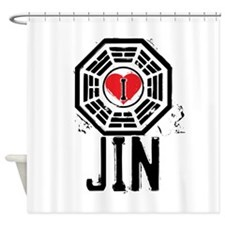 I Heart Jin - LOST Shower Curtain