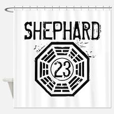 Shephard - 23 - LOST Shower Curtain