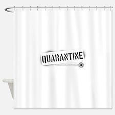 Quarantine - Dharma Initiativ Shower Curtain