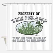 Property of the Island Shower Curtain