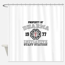 Property of Dharma - Staff Shower Curtain