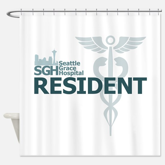 Seattle Grace Resident Shower Curtain