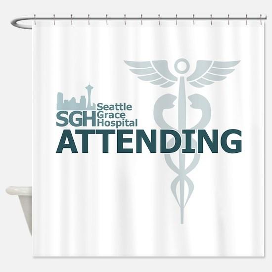 Seattle Grace Attending Shower Curtain