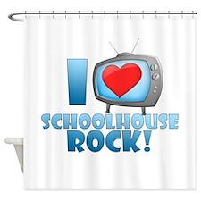 I Heart Schoolhouse Rock Shower Curtain