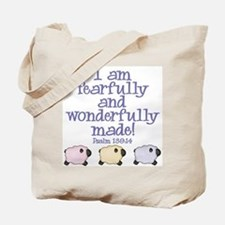 Wonderfully Made Tote Bag