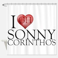 I Heart Sonny Corinthos Shower Curtain