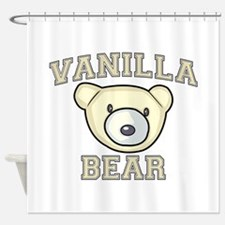 Vanilla Bear Shower Curtain