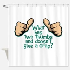 Two Thumbs Shower Curtain