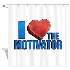 I Heart the Motivator Shower Curtain