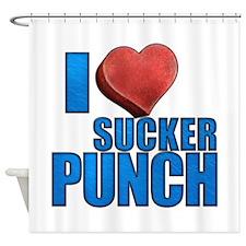 I Heart Sucker Punch Shower Curtain