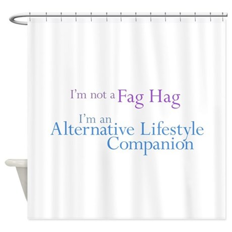 alternative lifestyle compani shower curtain