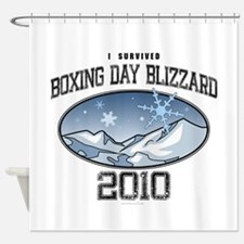 I Survived Boxing Day Blizzar Shower Curtain