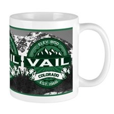 "Vail ""Colorado Green"" Small Mug"