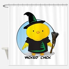 Wicked Chick Shower Curtain