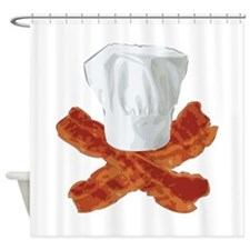 Bacon Chef Shower Curtain