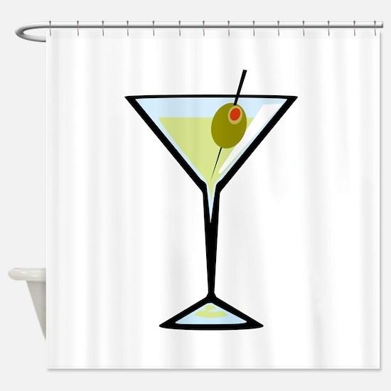 Dirty Martini Shower Curtain