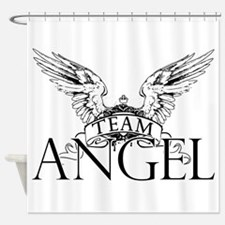 Team Angel Shower Curtain