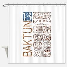 Baktun 13 - Mayan Calendar Gl Shower Curtain