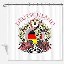 Deutschland Soccer Shower Curtain